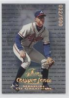 Chipper Jones /500