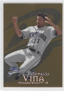 1999 Fleer Brilliants Gold #109G - Fernando Vina /99