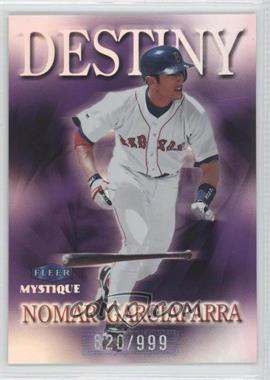 1999 Fleer Mystique Destiny #4 D - Nomar Garciaparra /999