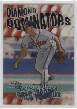 1999 Fleer Sports Illustrated - Diamond Dominators #4 DD - Greg Maddux