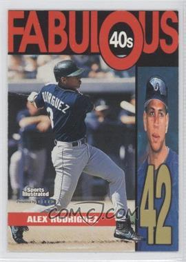 1999 Fleer Sports Illustrated [???] #12FF - Alex Rodriguez