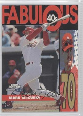 1999 Fleer Sports Illustrated [???] #1FF - Mark McGwire