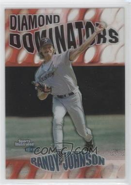 1999 Fleer Sports Illustrated Diamond Dominators #3 DD - Randy Johnson