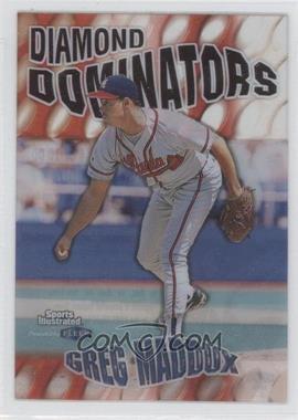 1999 Fleer Sports Illustrated Diamond Dominators #4 DD - Greg Maddux
