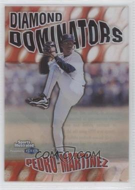 1999 Fleer Sports Illustrated Diamond Dominators #5 DD - Pedro Martinez