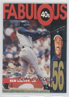 1999 Fleer Sports Illustrated Fabulous 40s #3 FF - Ken Griffey Jr.