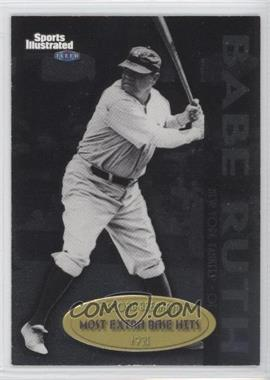 1999 Fleer Sports Illustrated Greats of the Game - Record Breakers #3 RB - Babe Ruth