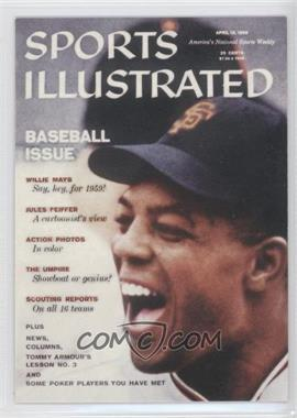 1999 Fleer Sports Illustrated Greats of the Game Covers #6 C - Willie Mays