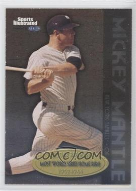 1999 Fleer Sports Illustrated Greats of the Game Record Breakers #1 RB - Mickey Mantle