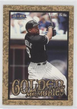 1999 Fleer Tradition Golden Memories #1GM - Albert Belle