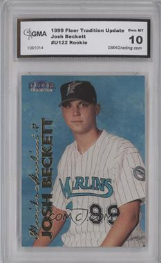1999 Fleer Tradition Update #U-122 - Josh Beckett [ENCASED]