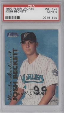 1999 Fleer Tradition Update #U-122 - Josh Beckett [PSA 9]