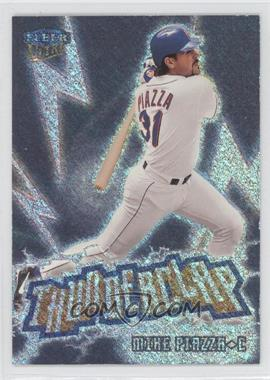 1999 Fleer Ultra - Thunderclap #12 TC - Mike Piazza