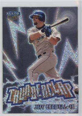 1999 Fleer Ultra - Thunderclap #8 TC - Jeff Bagwell