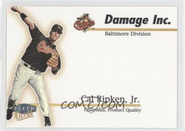 1999 Fleer Ultra [???] #3DI - Cal Ripken Jr.