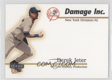 1999 Fleer Ultra Damage Inc. #5 DI - Derek Jeter