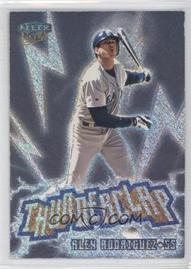 1999 Fleer Ultra Thunderclap #1 TC - Alex Rodriguez