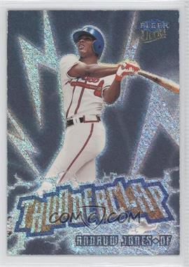 1999 Fleer Ultra Thunderclap #2 TC - Andruw Jones