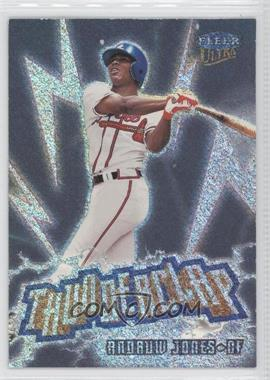 1999 Fleer Ultra Thunderclap #2 TC - Andruw Jones