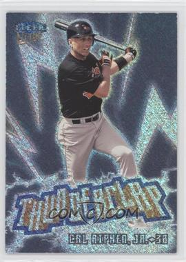 1999 Fleer Ultra Thunderclap #3 TC - Cal Ripken Jr.