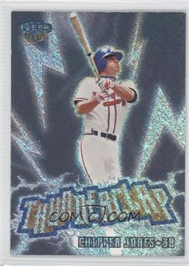 1999 Fleer Ultra Thunderclap #4 TC - Chipper Jones