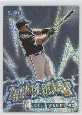 1999 Fleer Ultra Thunderclap #7 TC - Frank Thomas