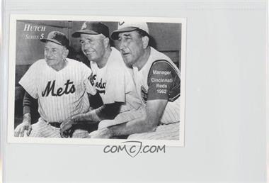 1999 Fred Hutchinson Cancer Research Series 5 - [Base] #4 - Casey Stengel, Walt Alston, Fred Hutchinson