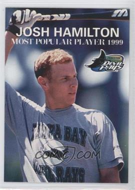 1999 Grandstand Princeton Devil Rays Josh Hamilton #N/A - Josh Hamilton
