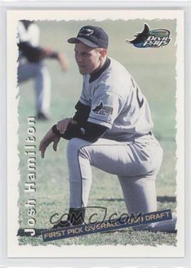1999 Grandstand Princeton Devil Rays Josh Hamilton #NoN - Josh Hamilton (#1 Overall Pick)
