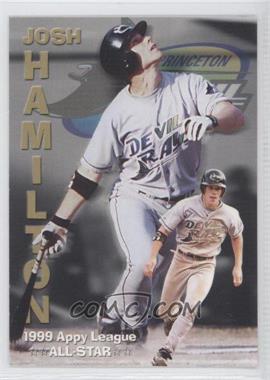1999 Grandstand Princeton Devil Rays Josh Hamilton #NoN - Josh Hamilton (1999 Appy League All-Star)