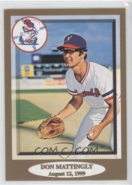 1999 Nashville Sounds Don Mattingly Night #18 - Don Mattingly