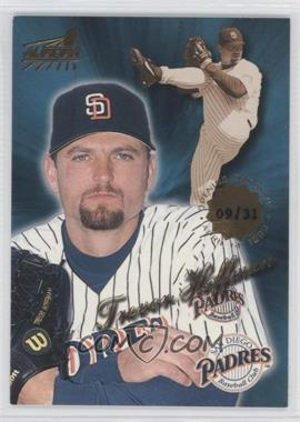 1999 Pacific Aurora - [Base] - Opening Day #161 - Trevor Hoffman /31