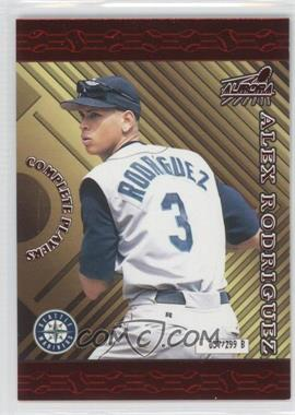 1999 Pacific Aurora Complete Players #10B - Alex Rodriguez /299