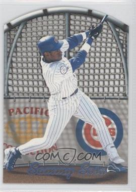 1999 Pacific Crown Collection - In the Cage #4 - Sammy Sosa