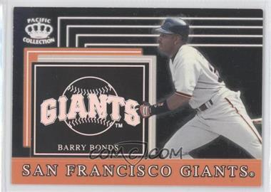 1999 Pacific Crown Collection Team Checklist #26 - Barry Bonds