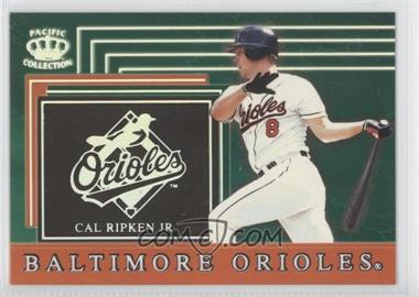 1999 Pacific Crown Collection Team Checklist #4 - Cal Ripken Jr.