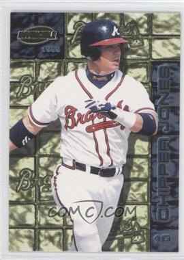 1999 Pacific Invincible Thunder Alley #2 - Chipper Jones