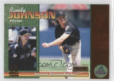 1999 Pacific Omega Copper #13 - Randy Johnson /99
