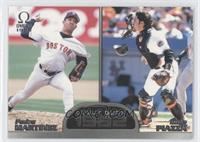 Pedro Martinez, Mike Piazza