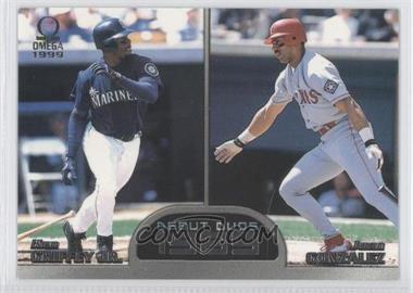 1999 Pacific Omega Debut Duos #7 - Juan Gonzalez, Ken Griffey Jr.