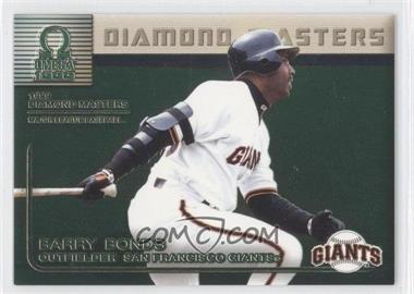 1999 Pacific Omega Diamond Masters #29 - Barry Bonds