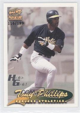 1999 Pacific Paramount [???] #172 - Tony Phillips /199