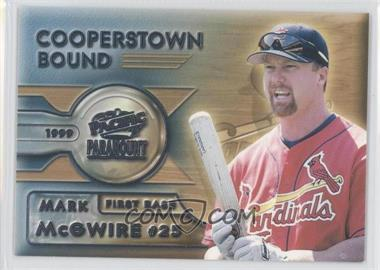 1999 Pacific Paramount Cooperstown Bound #7 - Mark McGwire