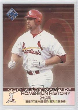 1999 Pacific Private Stock [???] #15 - Mark McGwire
