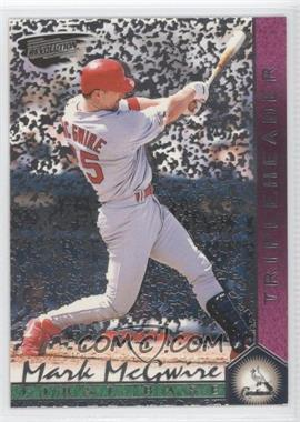 1999 Pacific Revolution Tripleheaders Tiers #7 - Mark McGwire /99