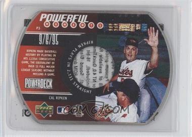 1999 Power Deck [???] #3 - Cal Ripken Jr.