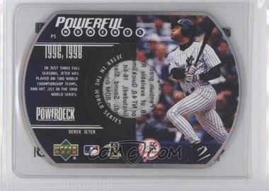 1999 Power Deck [???] #N/A - Derek Jeter