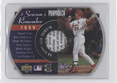 1999 Power Deck [???] #N/A - Mark McGwire