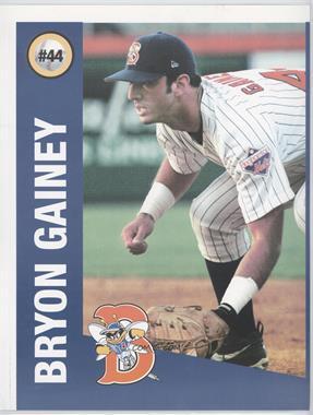 1999 Press & Sun-Bulletin Binghamton Mets #44 - Bryon Gainey