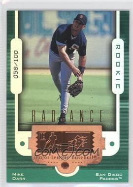1999 SPx Radiance #115 - Mike Darr /100